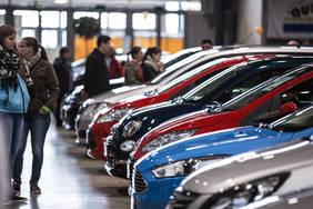 Südbadische Gebrauchtwagen-Verkaufsschau